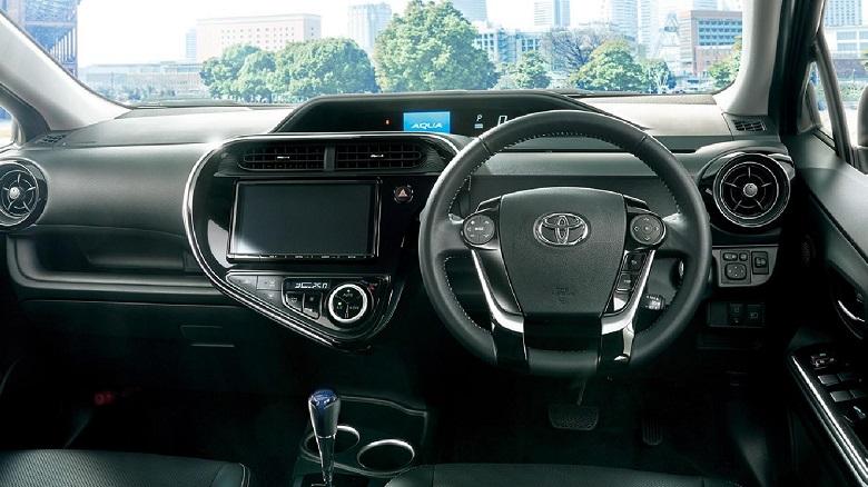 トヨタ「アクア」のグレードごとの内装の違いは?