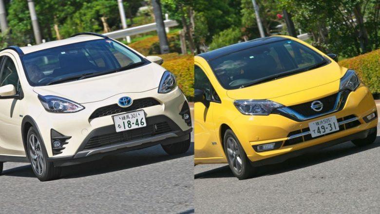 【ライバル対決】「日産ノートvsトヨタアクア」ベストセラーコンパクトカーはどちらが買いか?
