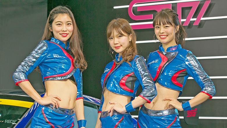 カスタムカーを彩った美女カタログ厳選20