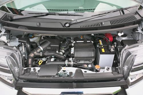 エンジンもNAとターボの2本立て、CVTには新機構2