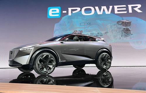 「日産IMQコンセプト」次期エクストレイルのコンセプトカーか?