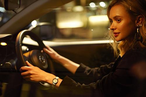 新世代技術を採り入れた足回り、ガソリン車の実用燃費も改善