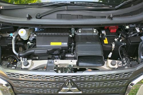 eKワゴンよりパワフルなエンジンを採用