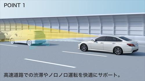 前車速追従機能付きレーダークルーズコントロール(追従ドライブ支援機能)