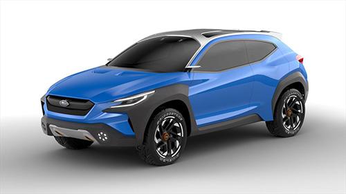 「スバルヴィジヴアドレナリンコンセプト」早くも次期XVを予感させるコンセプトカー