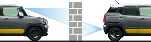 デュアルセンサーブレーキサポート(DSBS)