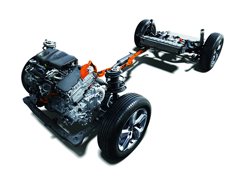 3種類用意された4WDシステム
