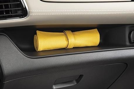 加えてトレイもあるので車内で使用するこまごまとしたものの置き場所に困ることはなさそうです。