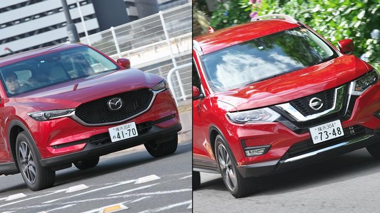 「CX-5 vs エクストレイル」人気SUVはどちらが買いか?