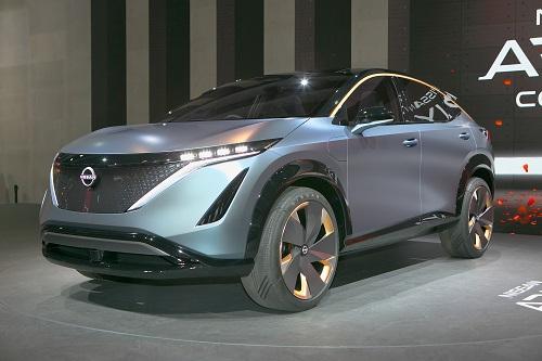 SUVタイプのコンセプトカー、アリアコンセプト
