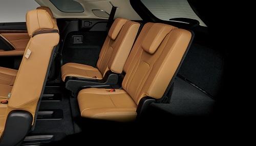 3列シートモデルのRX450hLのサードシートには2種類のシートポジションを設定
