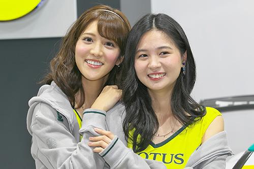 石川彩夏さん(左)荒町紗耶香さん(右)