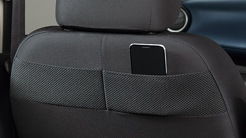 助手席シートバックポケット アッパー(「S」を除くグレードに標準装備)/ロア(ターボ車に標準装備)