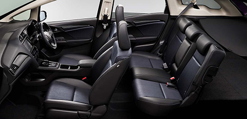 本革シートが選択できる最上級グレード「HYBRID Z Honda SENSING」1