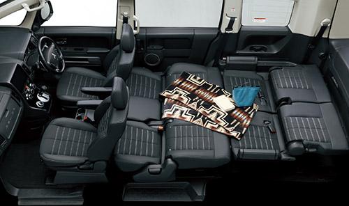 デリカD:5の荷室&座席アレンジ 5