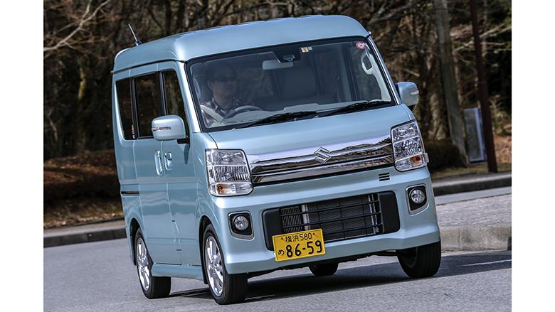 「スズキエブリイワゴン」軽自動車最大級の広さとタフさを持ち合わせる商用車ベースのワゴン