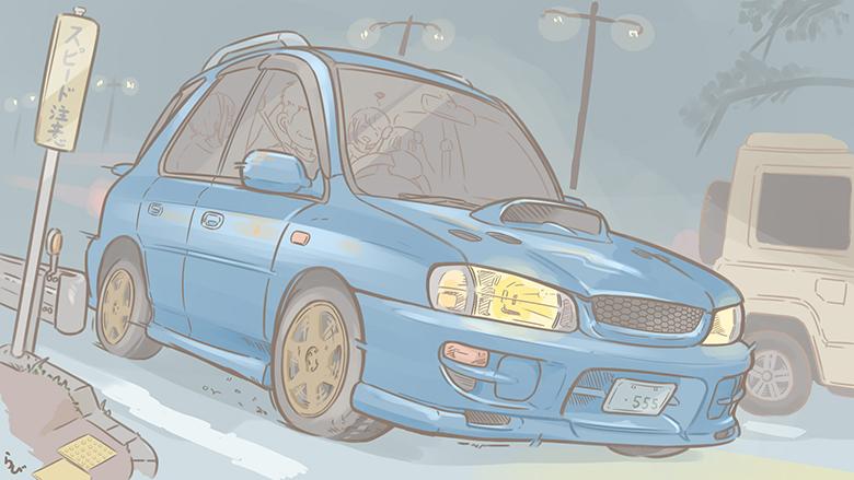 すべてのロードスター乗りと、未来の女性ドライバーに贈る小説〜KODORA〜第二話(上)