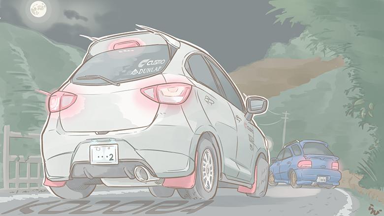 すべてのロードスター乗りと、未来の女性ドライバーに贈る小説〜KODORA〜第二話(中)