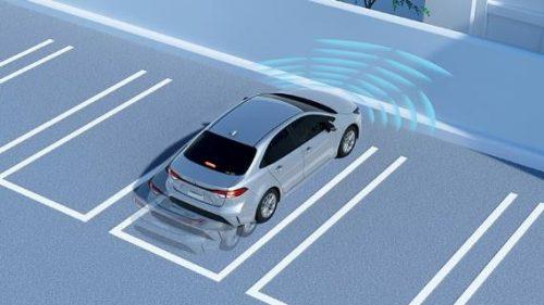 インテリジェントクリアランスソナー[パーキングサポートブレーキ(静止物)](「W×B」ガソリンターボ車、「G-X」を除くグレードに標準装備、「G-X」にメーカーセットオプション)