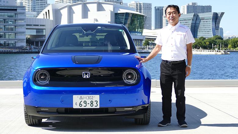 """電気自動車は""""街なか""""がベスト「ホンダe」編"""