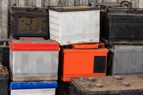 外したバッテリーの廃棄料の目安