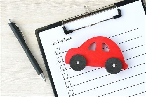 新車を購入する場合の注意点