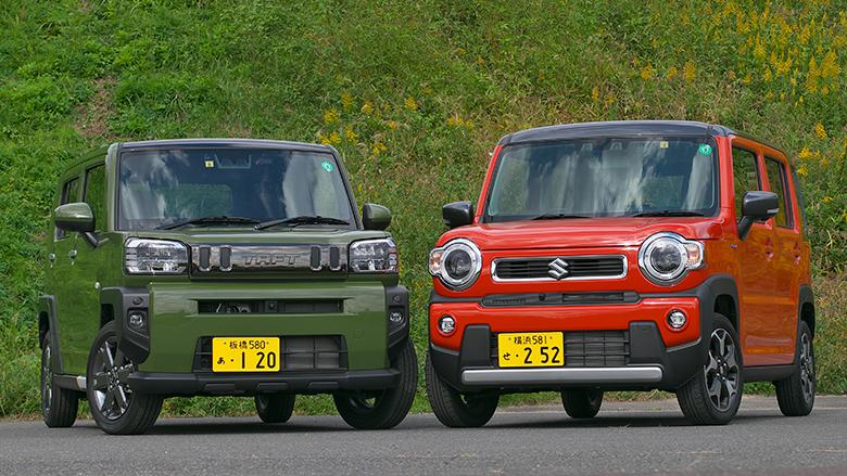 「スズキハスラー vs ダイハツタフト」軽の人気SUVはどちらが買いなのか!(萩原文博レポート)