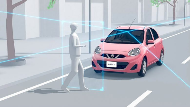 マーチの安全性能の特徴は?先進安全装備は全車に搭載されているの?