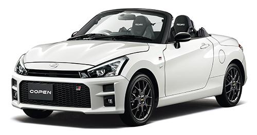 オープンカーに乗りたいなら「ダイハツ/トヨタ コペン GR SPORT」