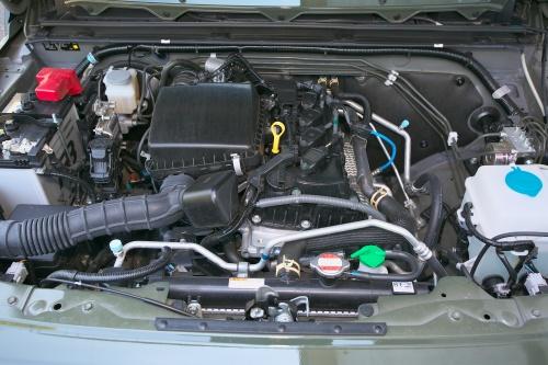 今や希少な副変速機付きパートタイム4WDシステム