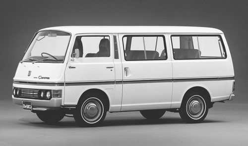 NV350 キャラバン初代(1973〜1980年)