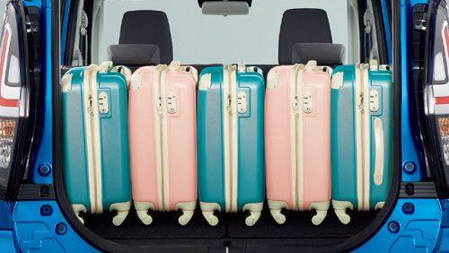 デリカD:2の荷室&座席アレンジ